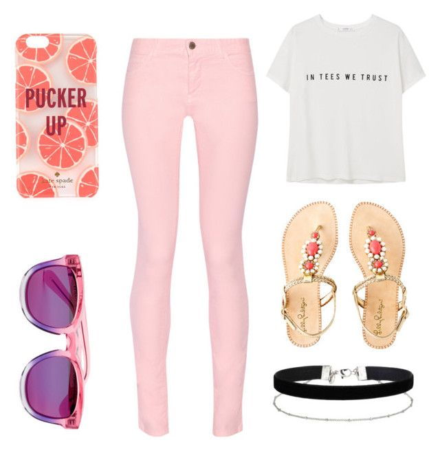 """""""Summer 2"""" by sofia-maravilla on Polyvore featuring Maison Kitsuné, Lilly Pulitzer, Kate Spade, Miss Selfridge, MANGO and Wildfox"""