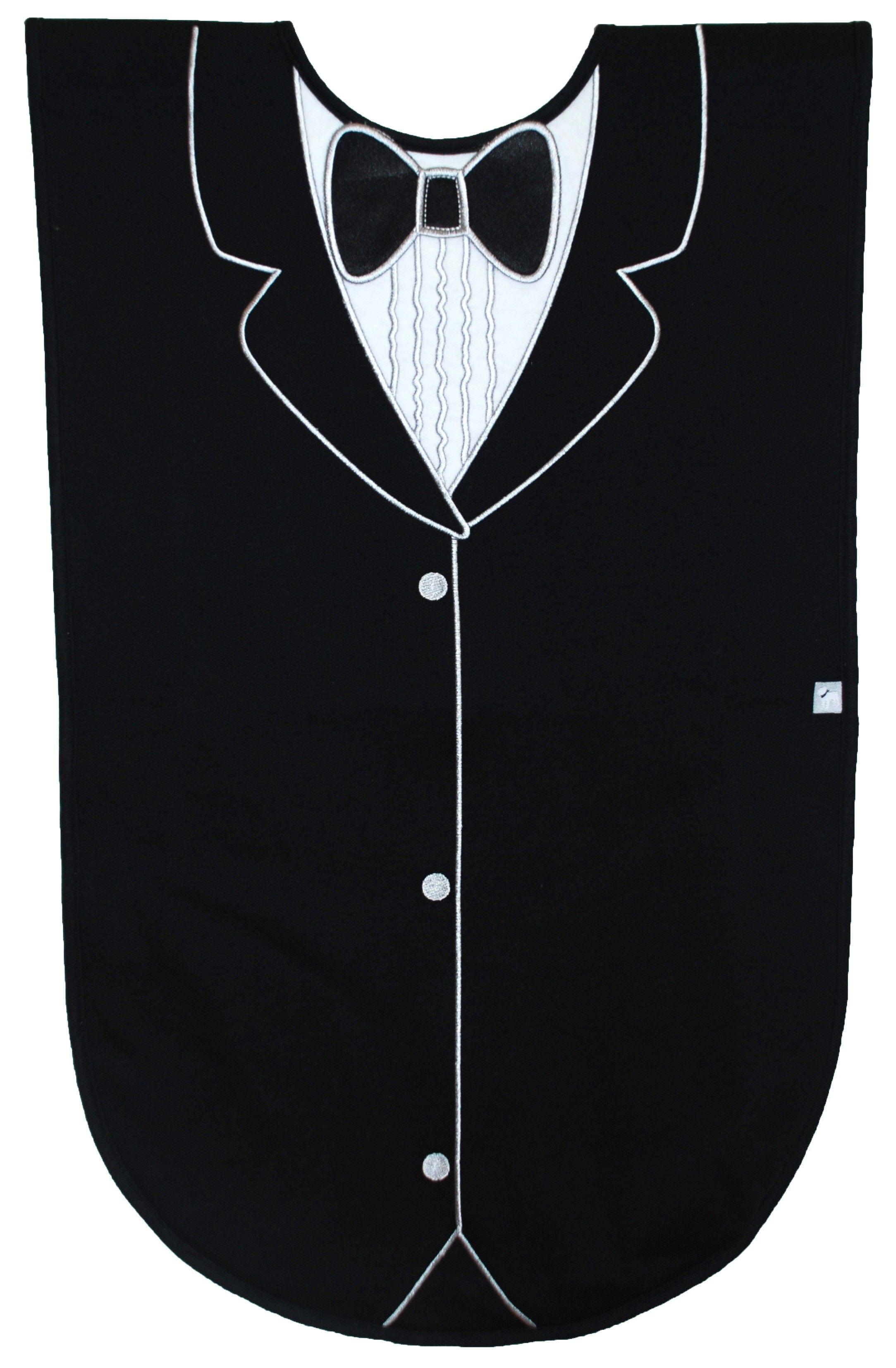 Black Tuxedo Adult Bib Sewing Pinterest
