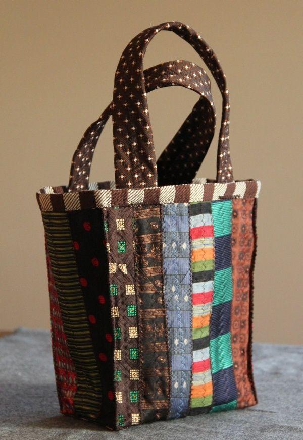 caldo-vendita bella vista risparmia fino all'80% crafts made from ties | made from vintage ties | Crafts ...