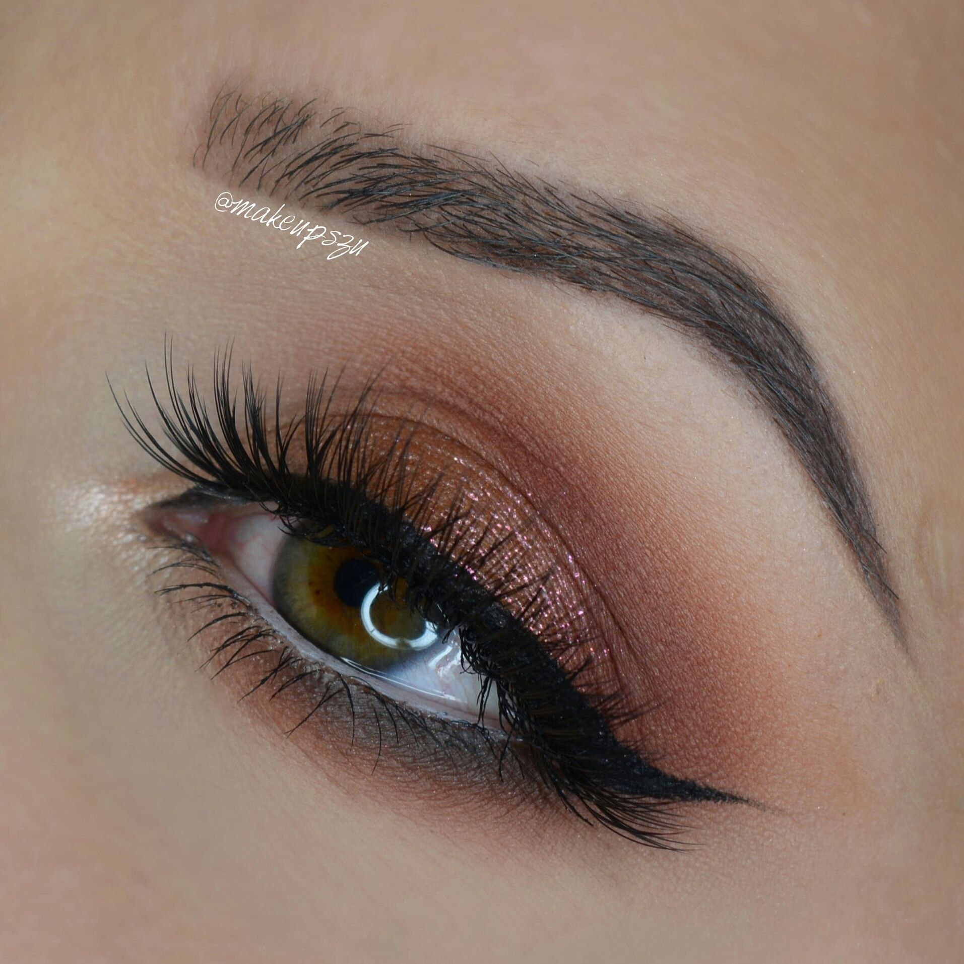This lovely look by Kasia shows off Makeup Geek Eyeshadows
