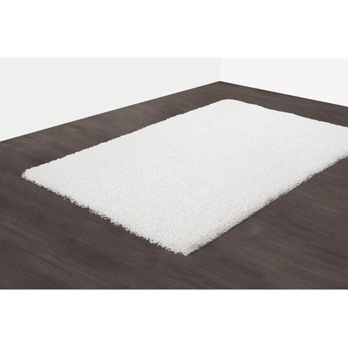 Castleton Home Shaggy Rug In White