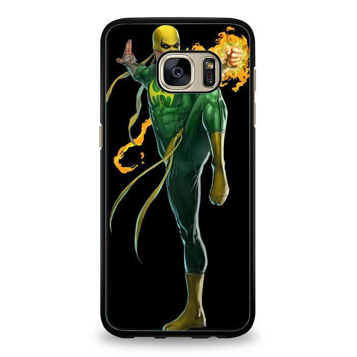 Iron Fist Superhero Samsung Galaxy S6 Case   yukitacase.com