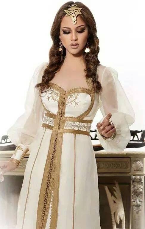 Robe soiree blanche tunisie