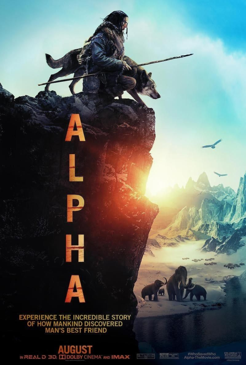 Alpha is a PG13 adventure film taking place 20,000 years