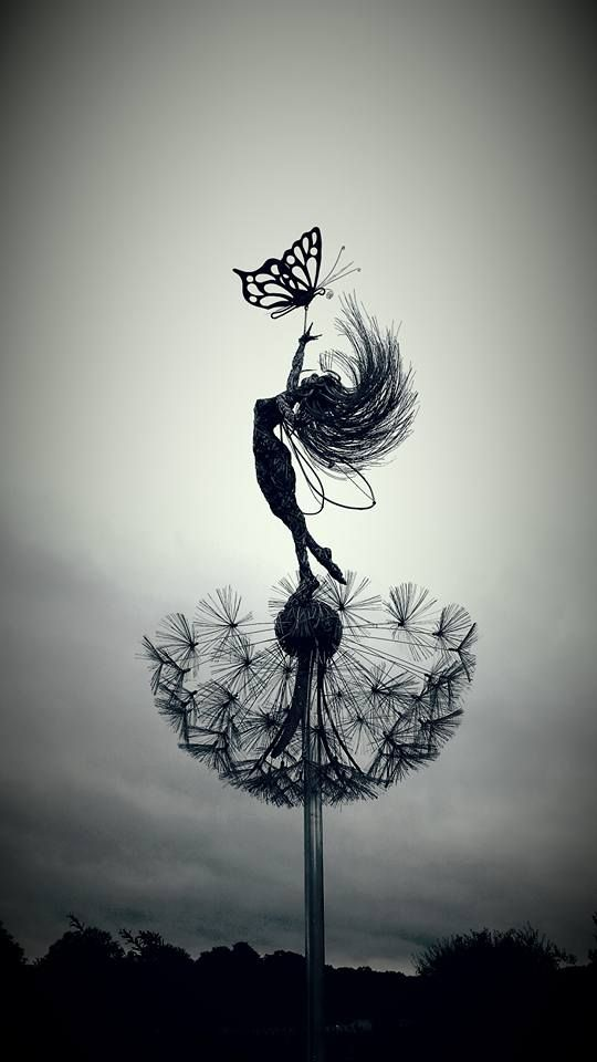 Wire Sculpture by Fantasywire | Art | Pinterest