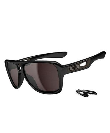 Oakley Black   Gray Dispatch 2 Polished Sunglasses - Men. Óculos De Sol ... be6e0b2a60