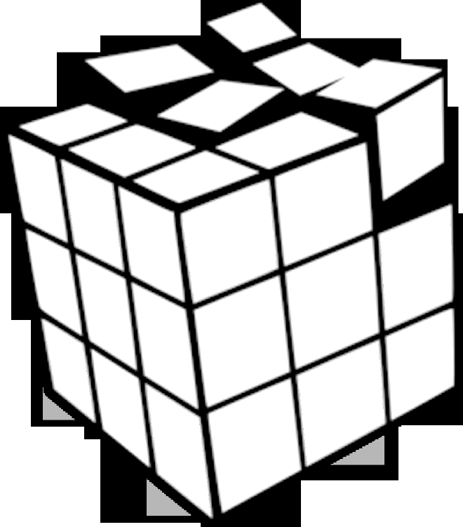 how to draw a 3d rubik's cube Google Search rendering