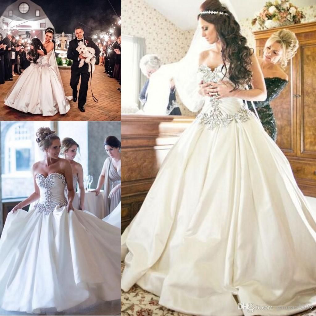 Pnina Tornai A-Line Sweetheart Bling Bling with Tulle Beaded Lace Up ...