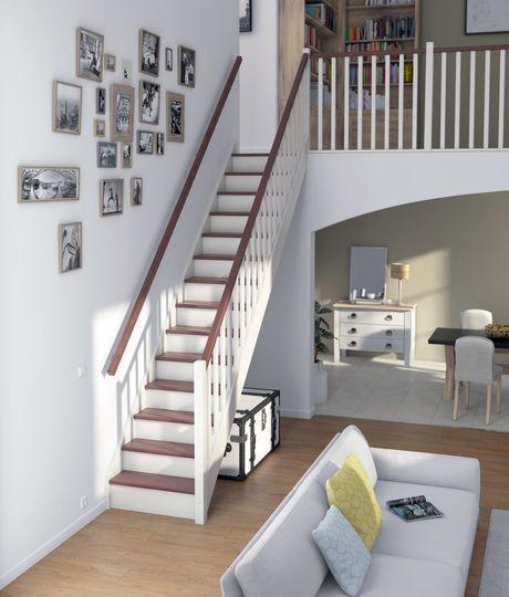 escalier les mod les d 39 escaliers pr ts monter escaliers et entr es pinterest. Black Bedroom Furniture Sets. Home Design Ideas