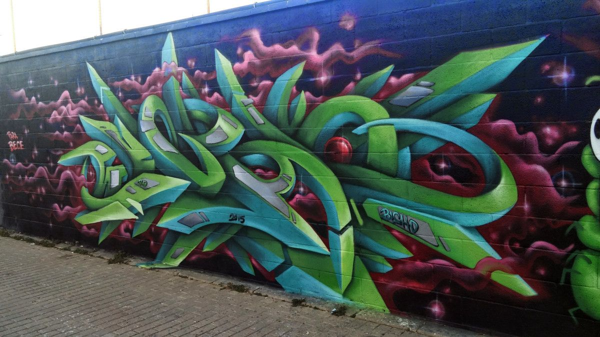BISHO - Exhibición de Grafito Bece 2015