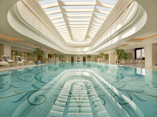 Indoor swimming pool luxus  Luxury Indoor Swimming Pools | Swimming Pool Designs | Pinterest ...