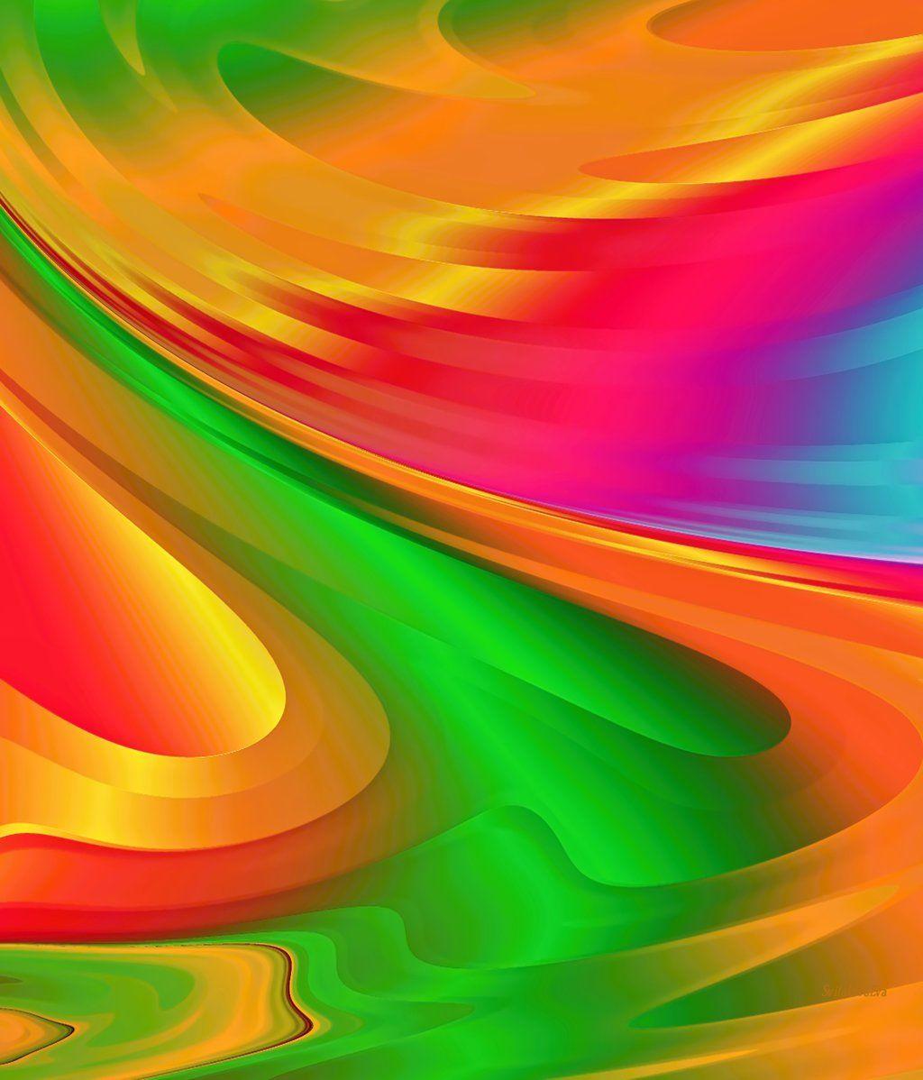 Summer Abstract Wallpaper By SvitakovaEva.deviantart.com