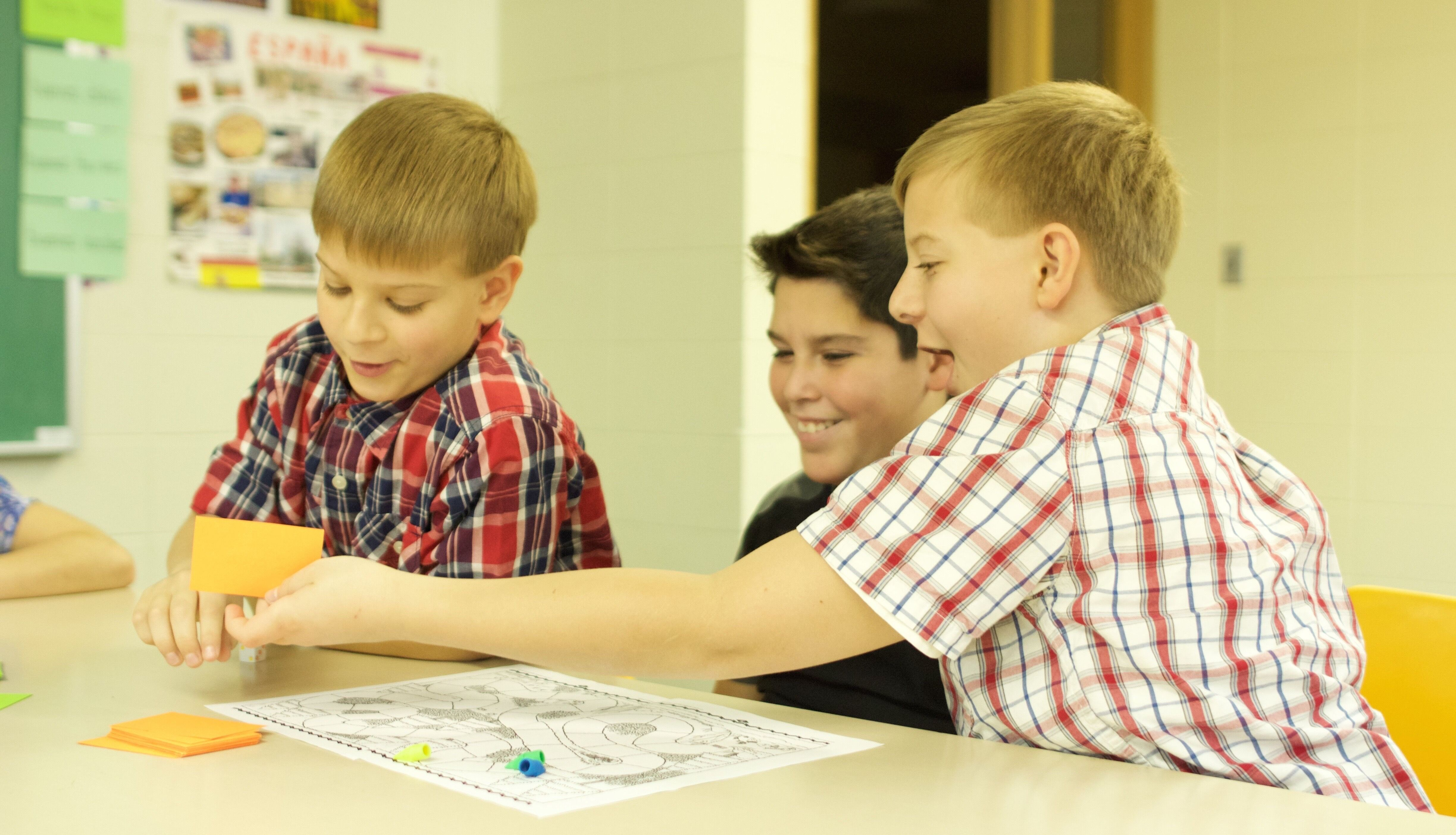 Kids Have Fun Learning Spanish When They Can Do Activities