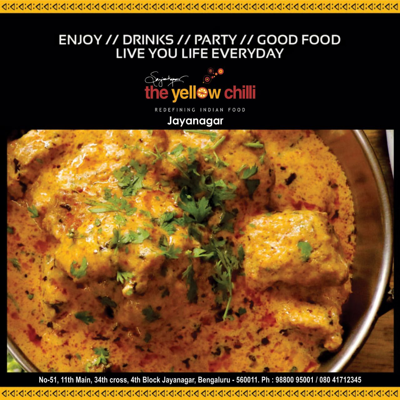 The Yellow Chilli Restaurant Indian Food Recipes Food Good Food