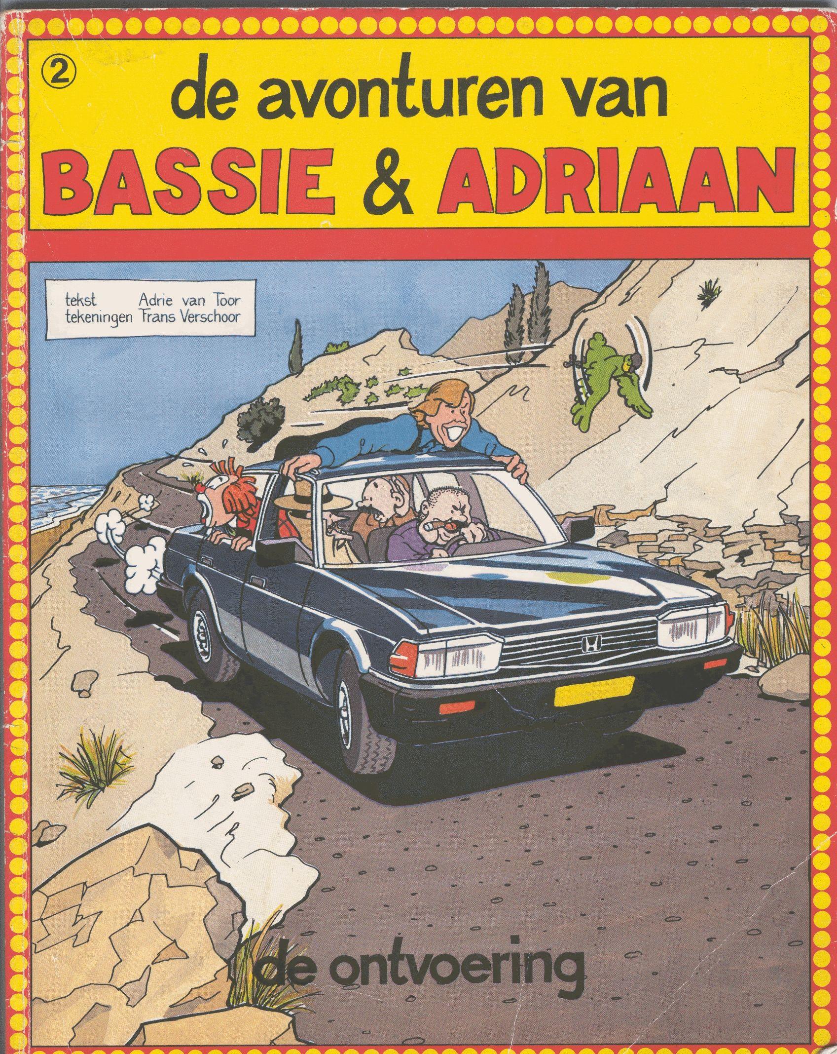 Wist niet dat er überhaupt stripberhalen waren gemaakt met de vervelende clown Bassie en mijn jeugdheld Adriaan in de hoofdrol tot dat ik dit album tweede hands vond. Net als de tv-serie ook geschreven door Adriaan en best wel een leuke kinderstrip.