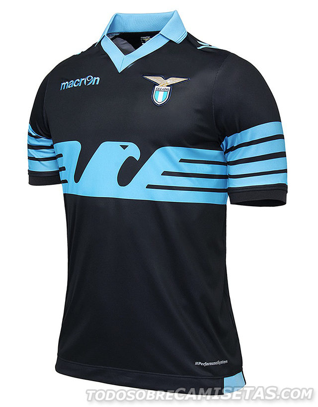Lazio Macron 15 16 Away Kit  e2d7df40bbfbe