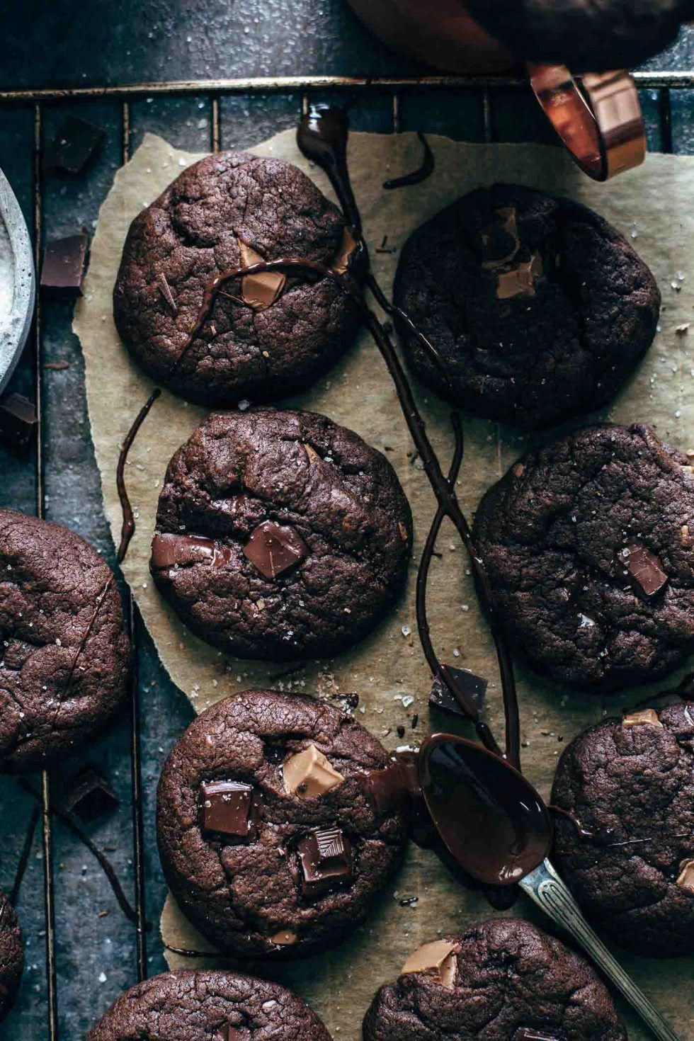 Chocolate brownie cookies use kodiak cakes 100 whole