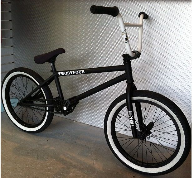 like this not sure if I have the balls for a no brakes setup