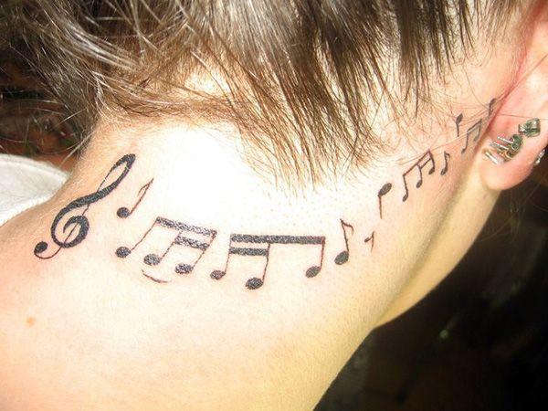 Photo of 41 Harmonious Music Tattoo For 2013