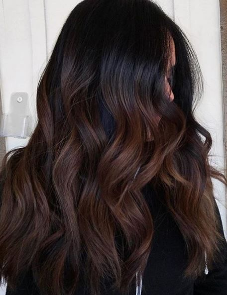 Experiment With Trendy Dark Chocolate Brown Hair