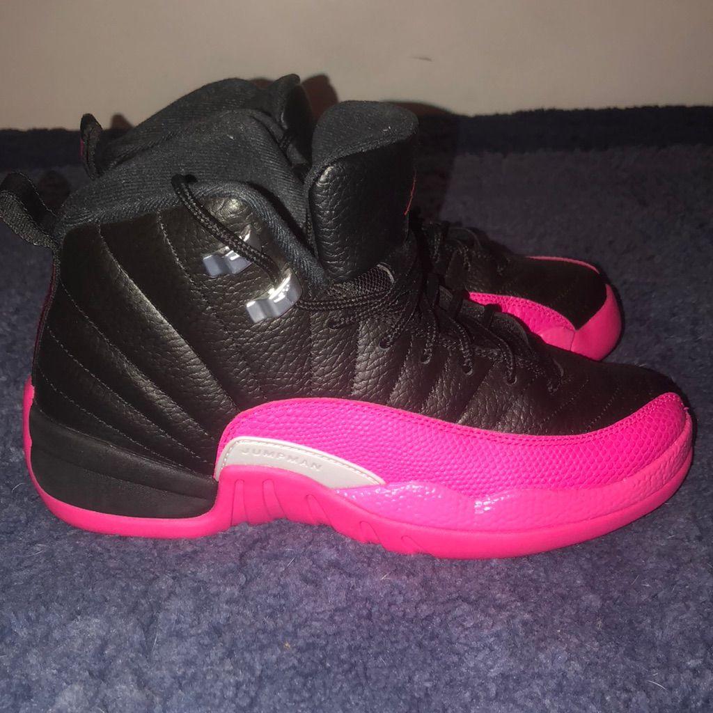 quality design c00db d7a6b Jordan Shoes   Black And Hot Pink Jordan Sneakers   Color ...