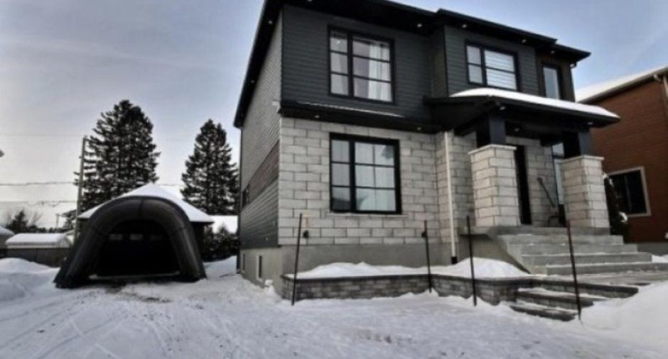 Canexel granite siding Modern Perspective Pinterest Granite - credit impot maison neuve