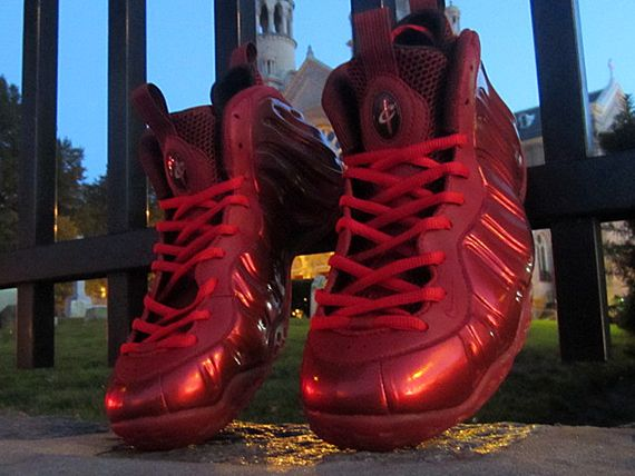 "Nike Air Foamposite One ""Red Devil"" Customs by FETTi D'Biasi - SneakerNews.com"