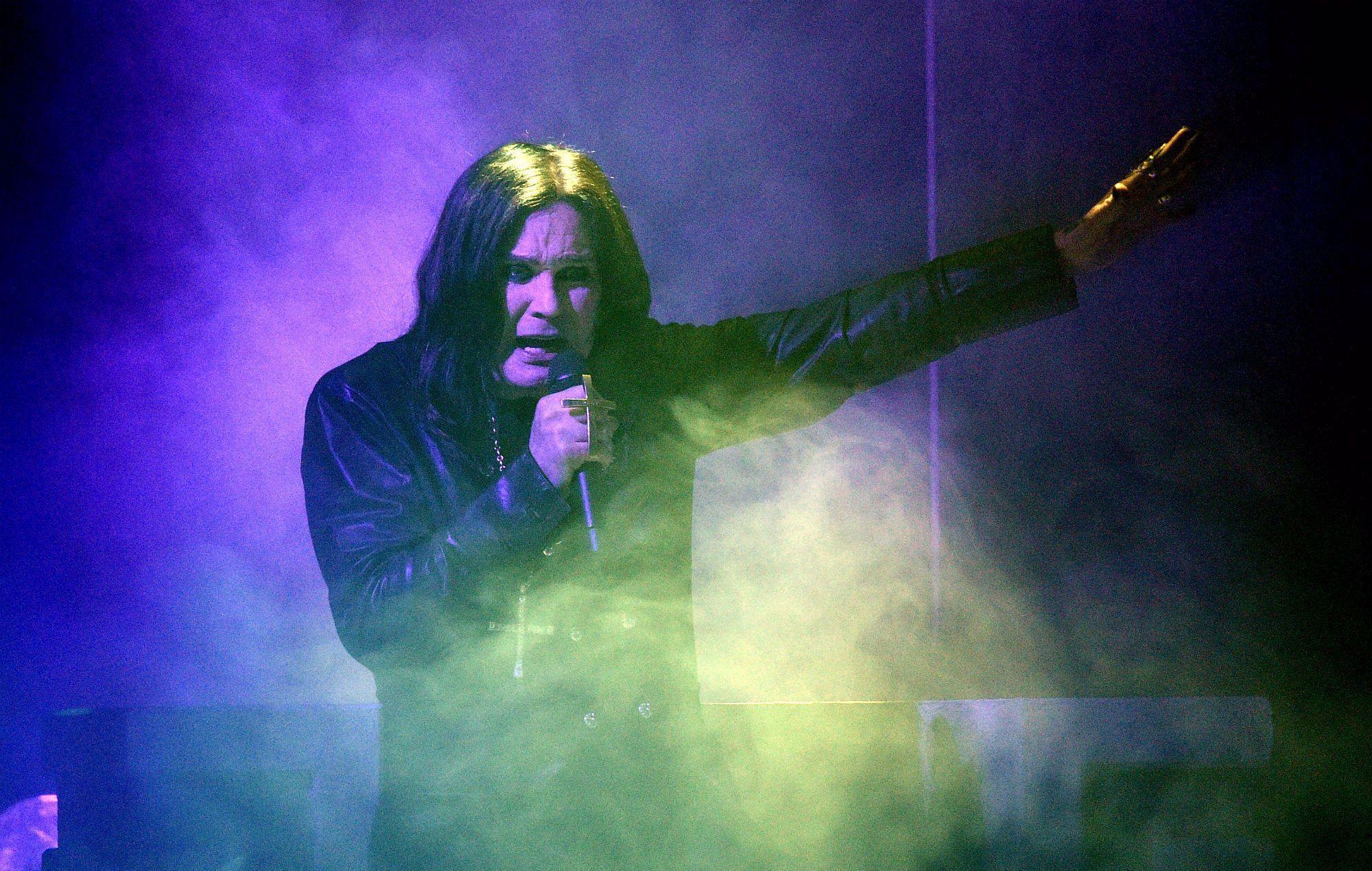 Ozzy Osbourne says he's been battling Parkinson's disease