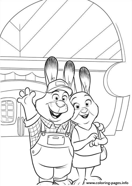 zootopia coloring Coloring Pages Pinterest Zootopia - new zootopia coloring pages free