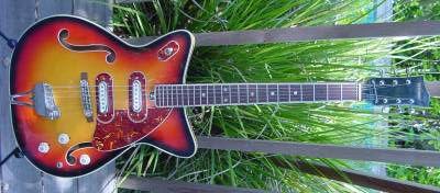 Vintage 1960's Stafford Electric Guitar