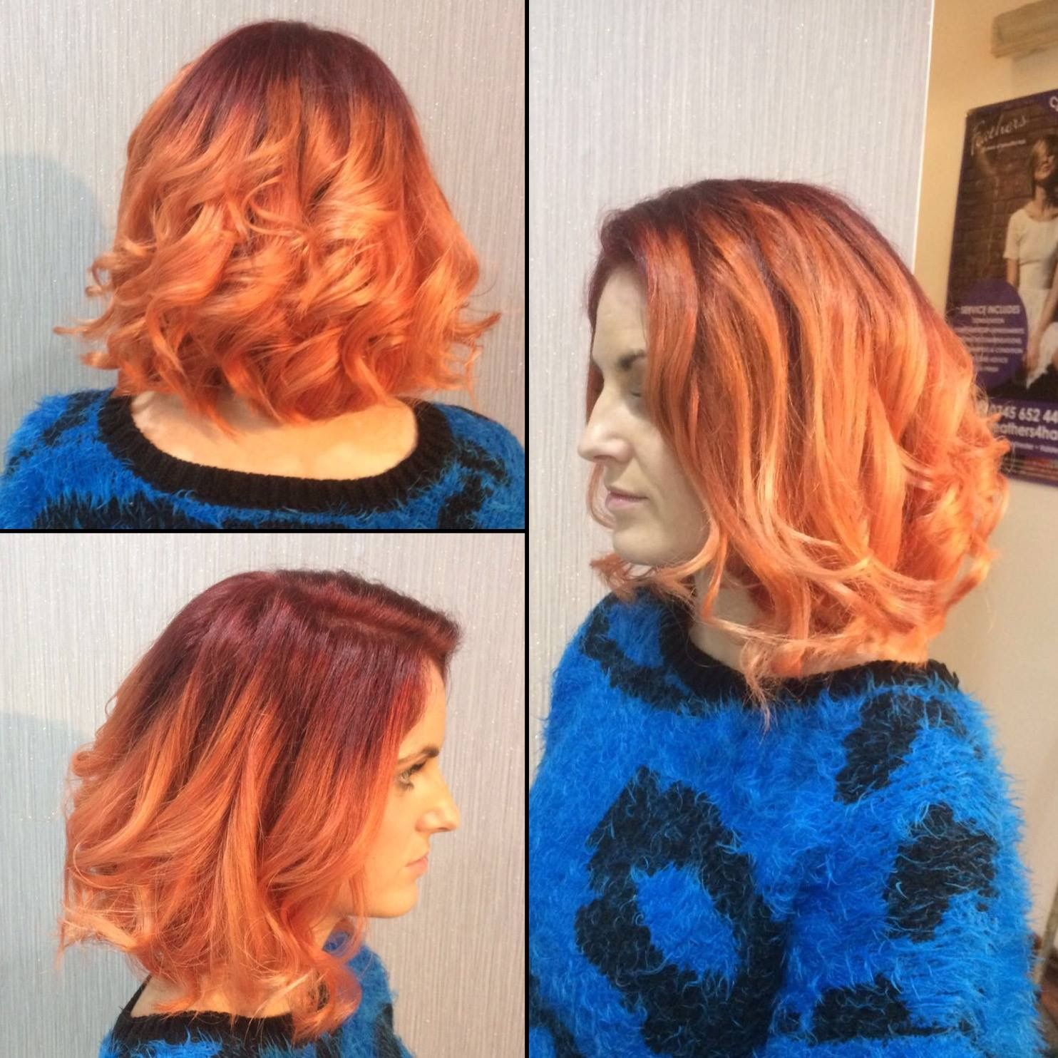 Anyone looking for something different? This fire ombré is