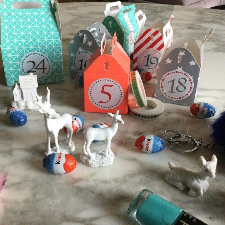 idée cadeau pour joli calendrier de l'avent fait maison *Blog déco MLC #calendrierdelaventfaitmaisontissu