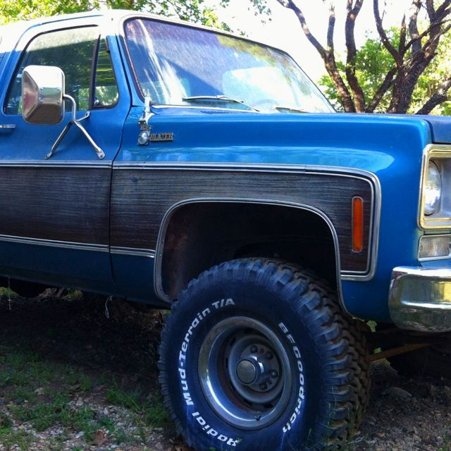My 1978 K5 Chevrolet Blazer. Any Paint And Body Guys