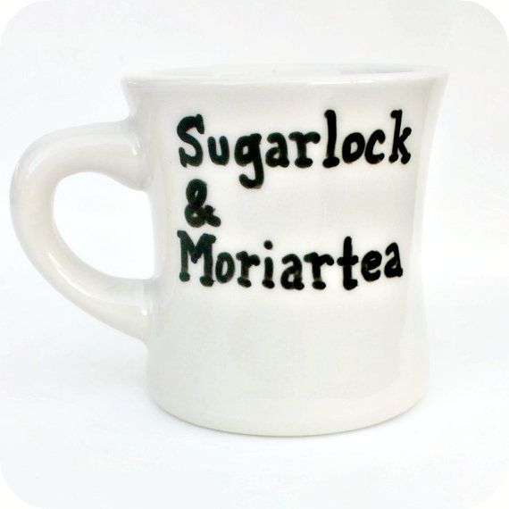 Sherlock Holmes, Tea Cup, Coffee Mug, BBC, Sherlock, Cumberbatch, Sherlocked, Moriarty, Diner Mug, Book, Unique Mug, Personalized Mug, Fan #teamugs