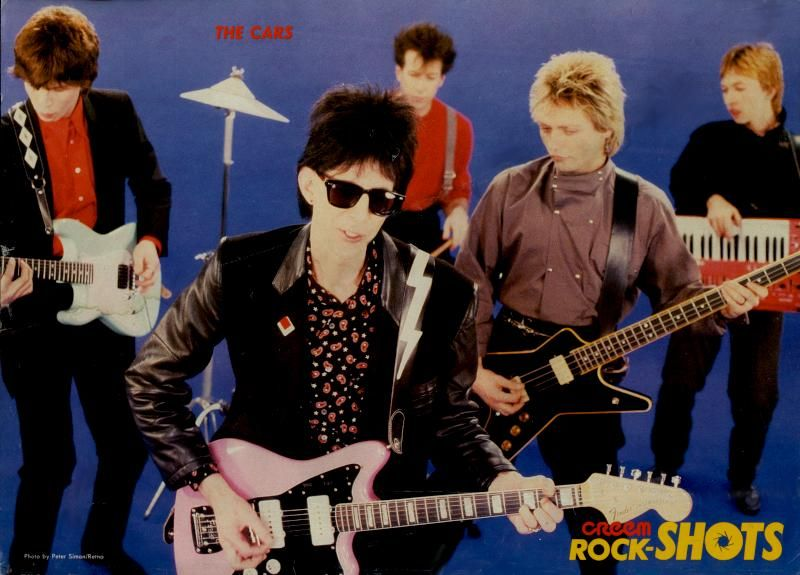 Pin by Paba on The Cars (mostly the fabulous Benjamin Orr ...