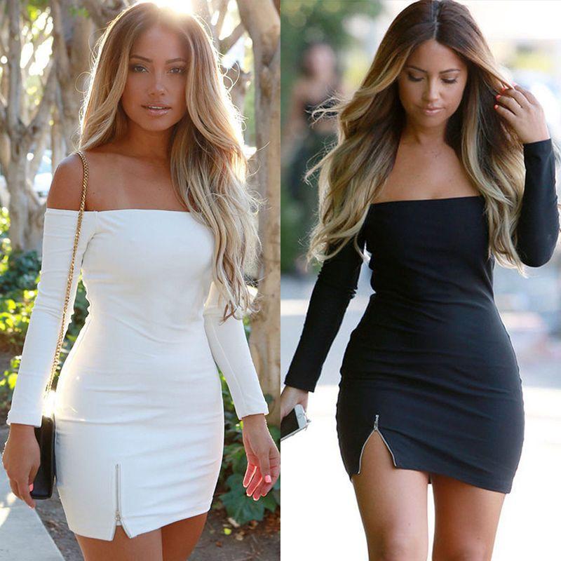 7786636274e Women Off Shoulder Bandage Party Cocktail Evening Short Mini Midi Dress  Clubwear
