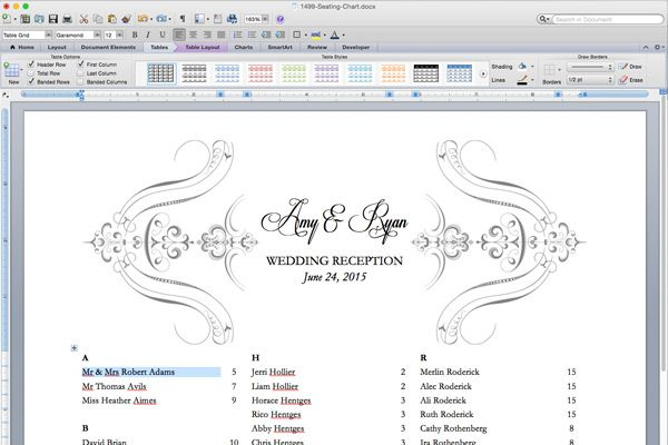 Free printable elegant seating chart also wedding reception templates pinterest rh