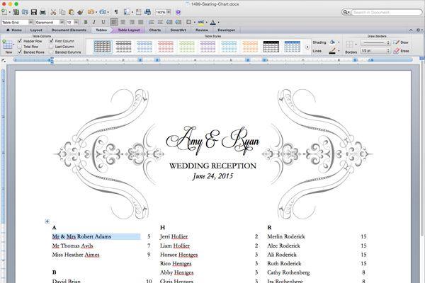 Free printable elegant seating chart also wedding reception templates pinterest rh