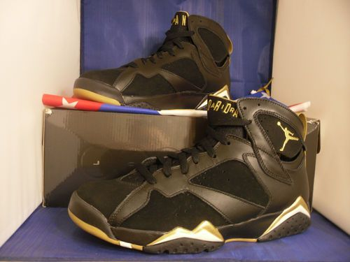 47a826412660f9 Nike Air Jordan Golden Moment Pack Retro 7 ONLY Gold Medal SZ 8.5 ( 535357- 935 )  Sneakers