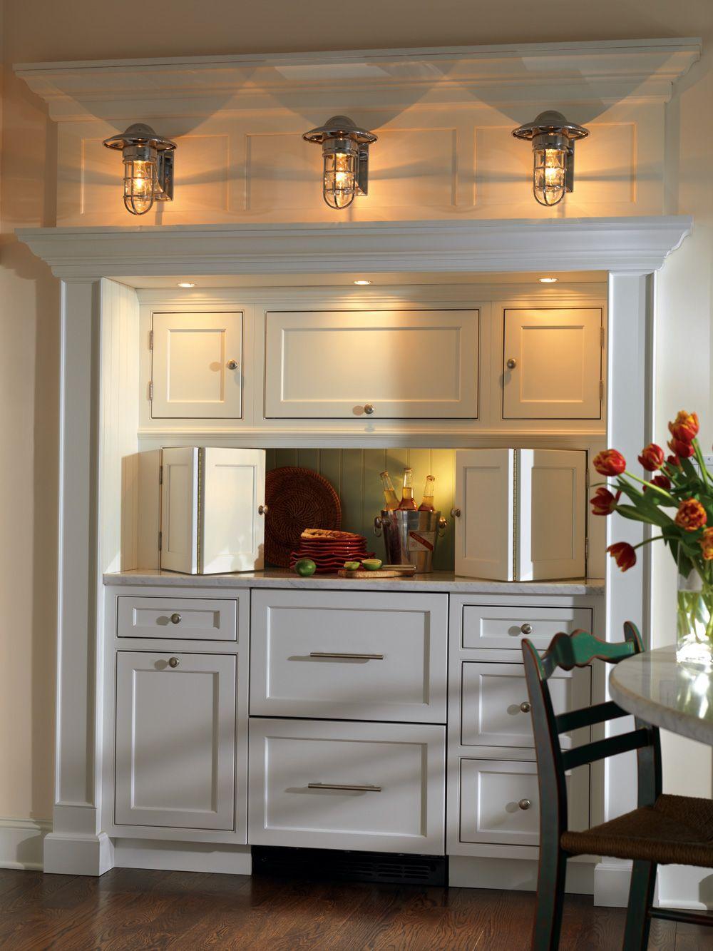 Pass Through Cottage Style Kitchen Cottage Kitchen Cabinets Kitchen Remodel