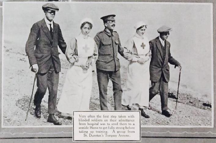 St. Dunstan's Hostel for Blind Soldiers and Sailors - The National Archives blog : Learn more about St. Dunstan's #Archives #Blind #Blog #Dunstan39s #Dunstans #Hostel #learn #National #Sailors #Soldiers