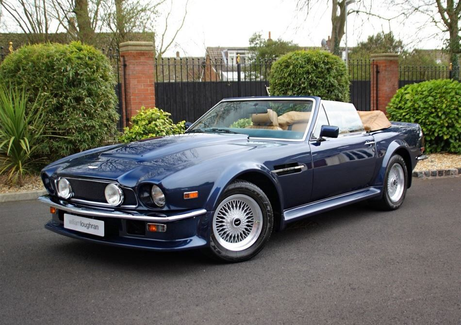 88 Aston Martin Vantage Volante | handsome machines | Pinterest ...