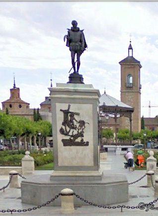 Plaza de Cervantes, Alcalá de Henares, Madrid