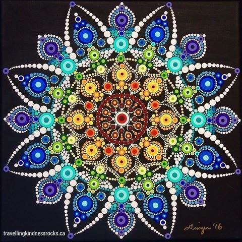 image result for dot mandalas dot art pinterest pointillisme mandala and peinture. Black Bedroom Furniture Sets. Home Design Ideas
