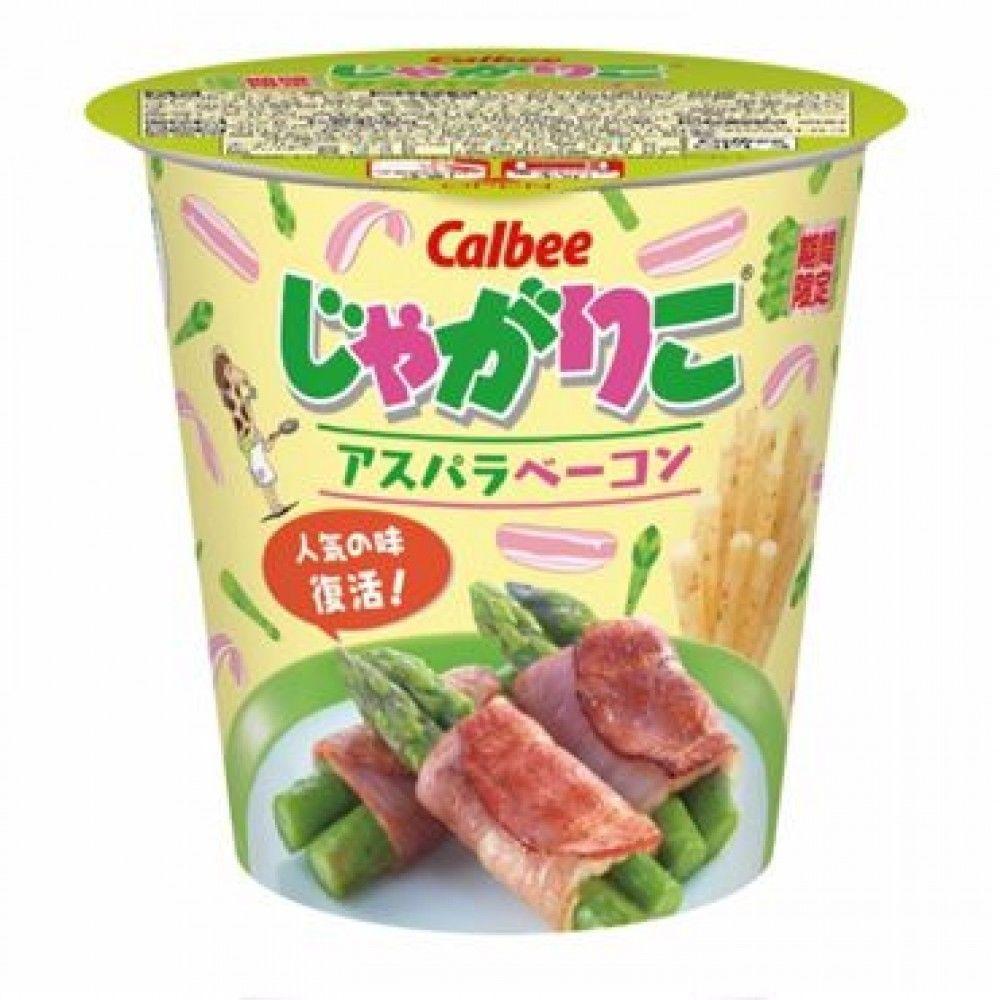 Calbee Jagariko Potato Sticks asparagus bacon 52g cup Japan Japanese New chips #CalbeeJagariko