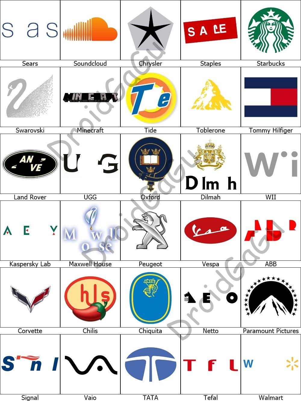 Level 8 Logo Quiz Answers Bubble in 2020 Logo quiz