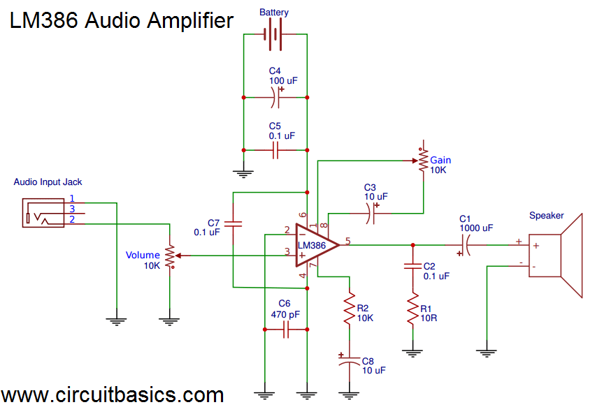Build a Great Sounding Audio Amplifier (with Bass Boost) from the ...