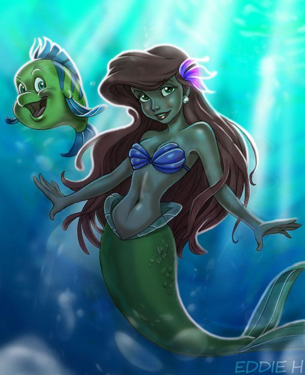 Erotic little mermaid
