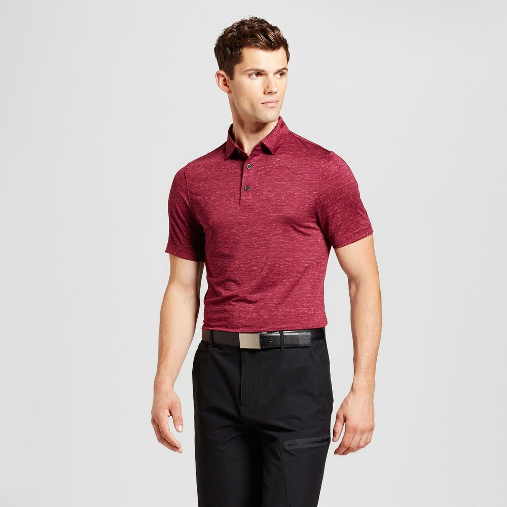 539835c63 Men's Space Dye Golf Polo | Products | Golf polo shirts, Golf, C9 ...