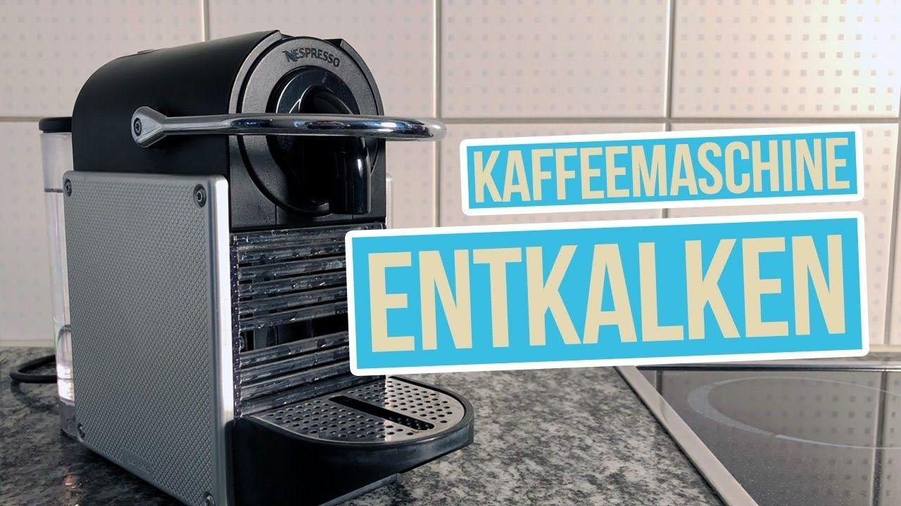 Kapsel Kaffeemaschine entkalken und reinigen